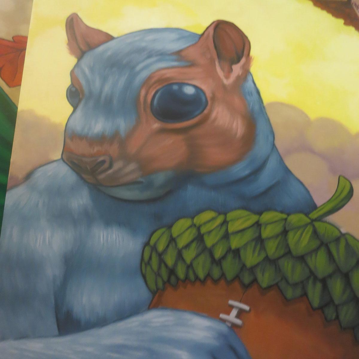 Carter Park Mural Apr 2nd Detail
